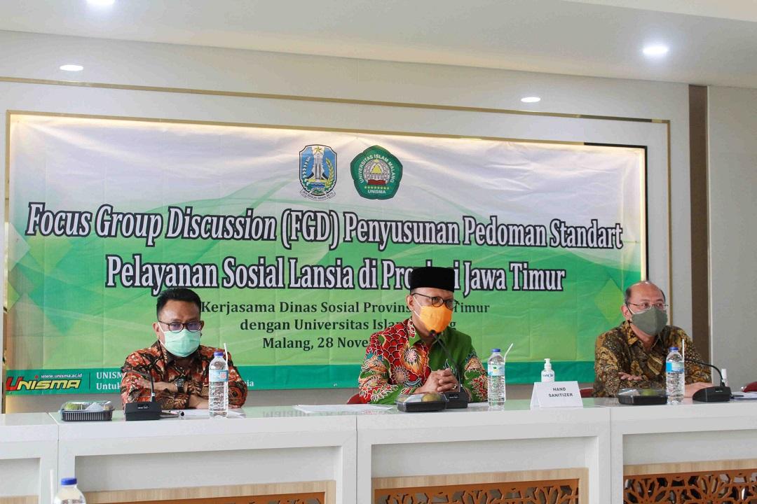 FGD penyusunan pedoman pelayanan sosial lansia
